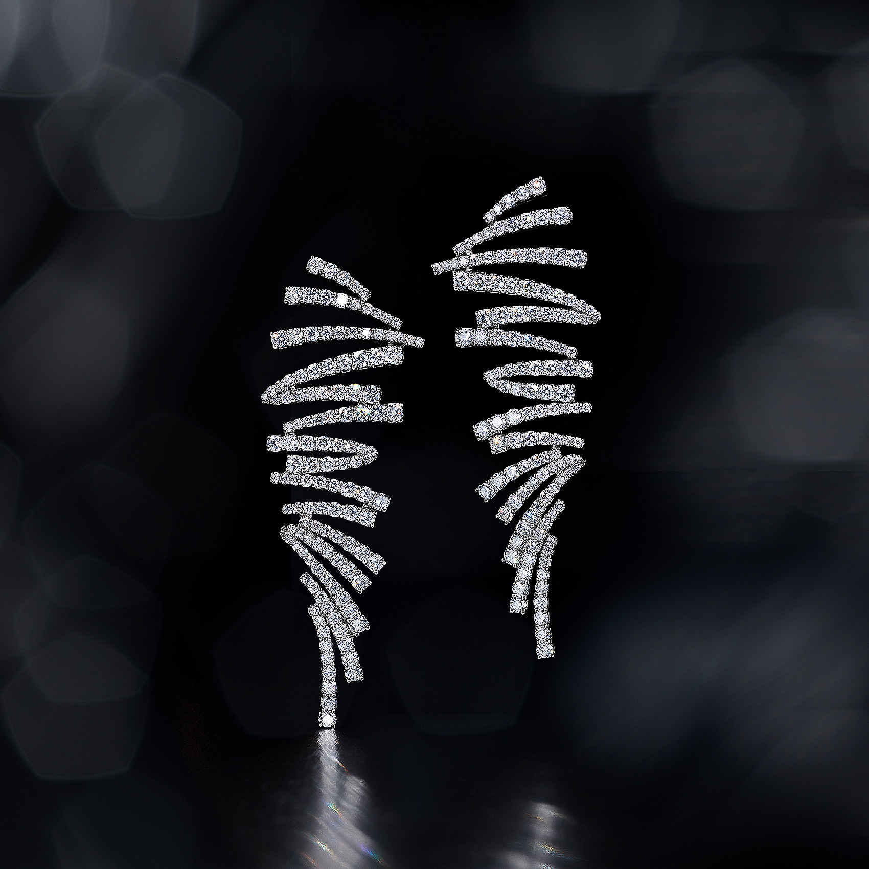 Diamond-Earrings-Bokeh