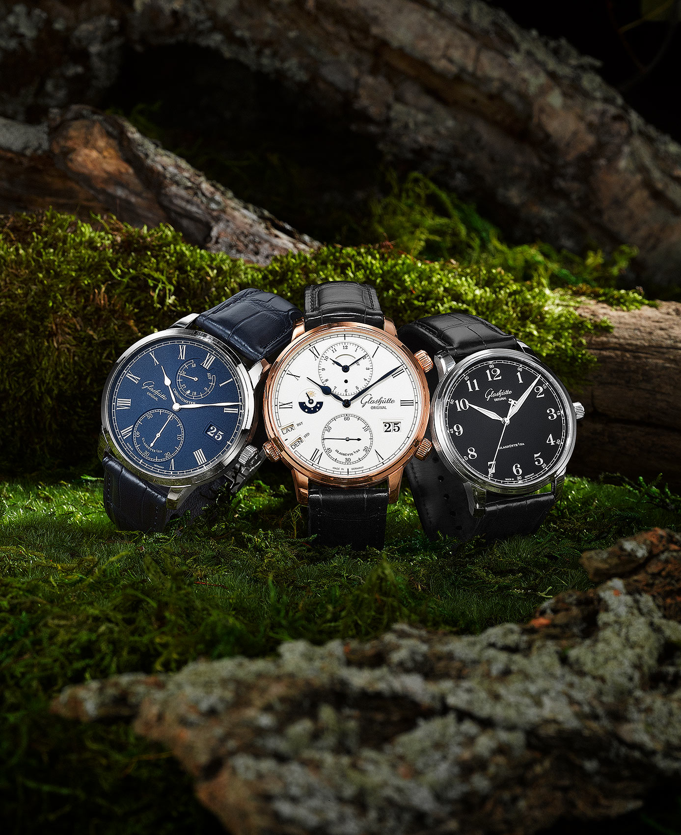 Glashutte Watches in the Woods