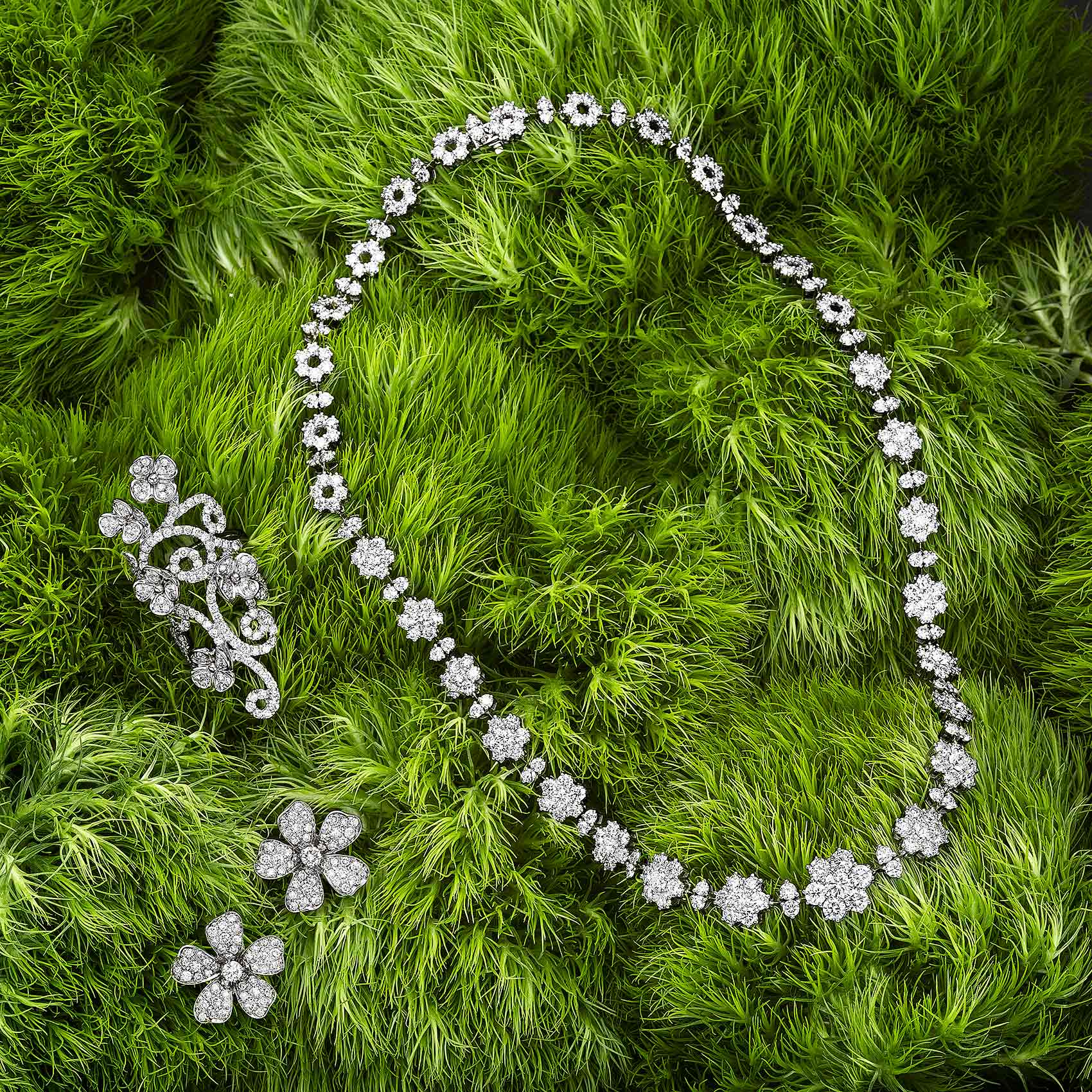 Jewelry-on-Greenery