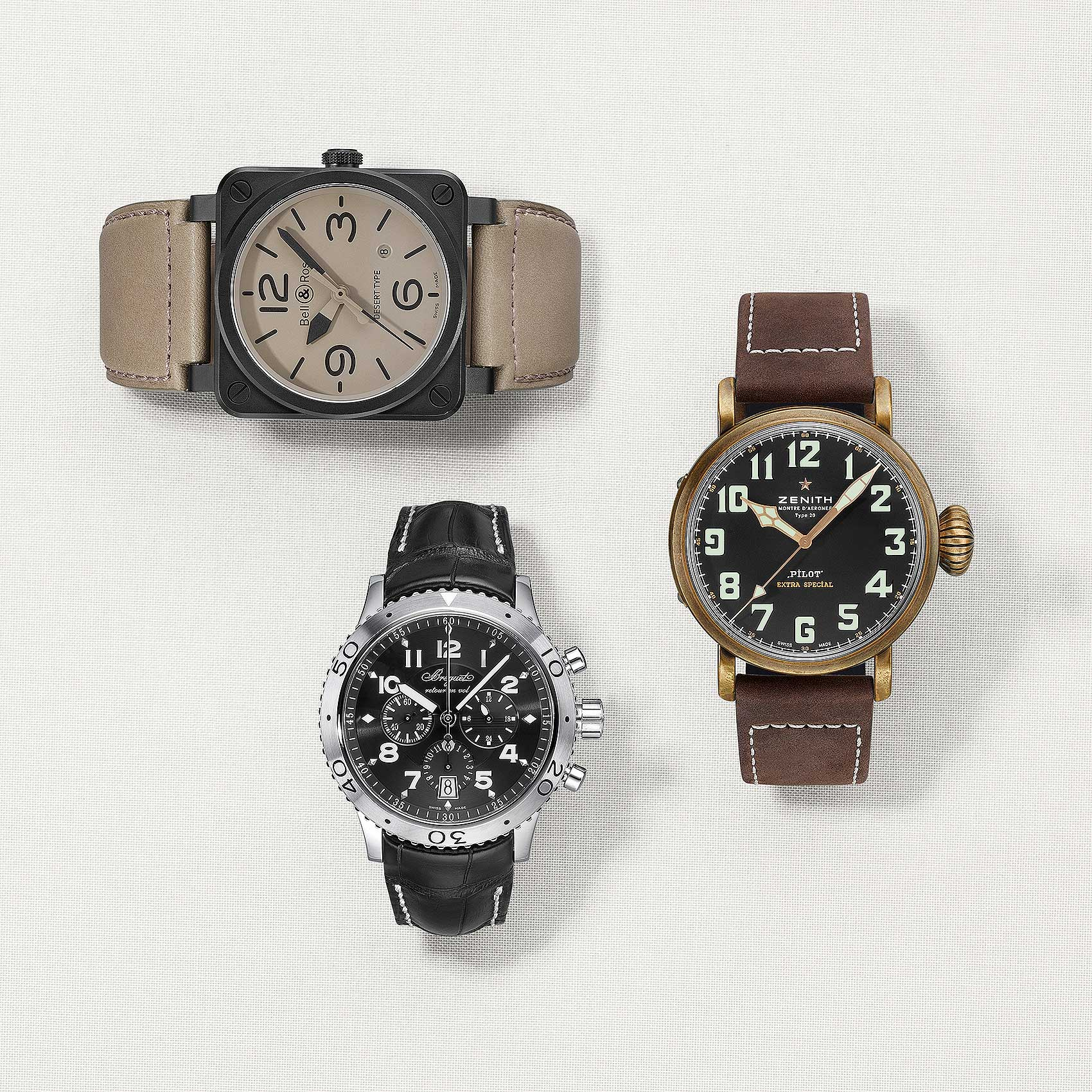 Leather-Band-Wristwatches