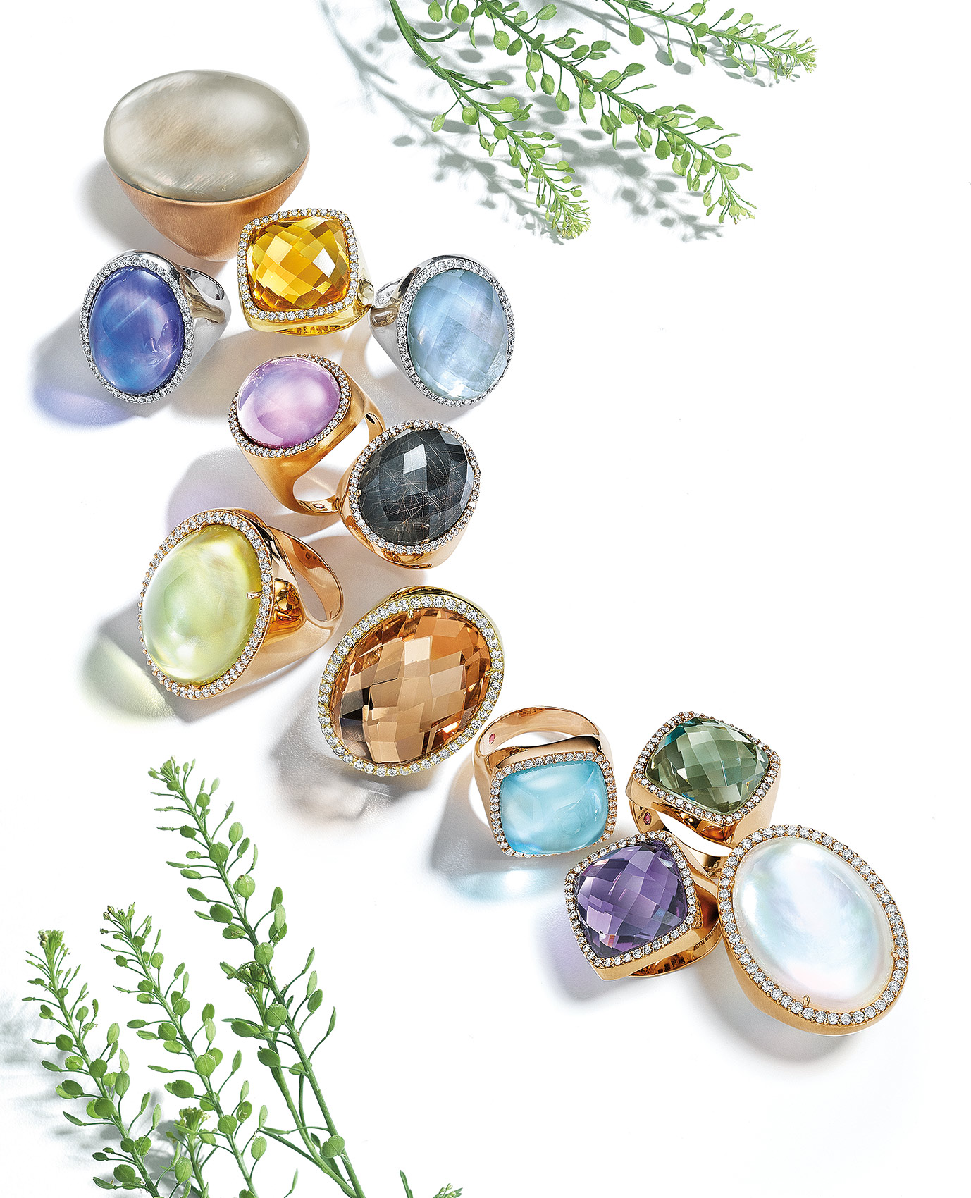 Roberto-Coin-Gemstone-Rings