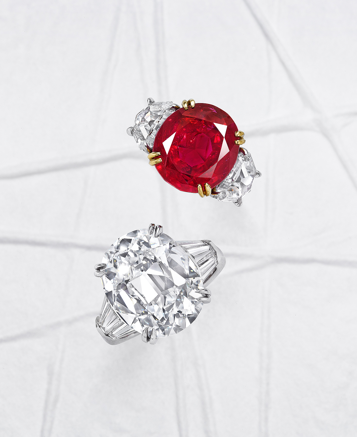 Ruby-and-Diamond-Rings