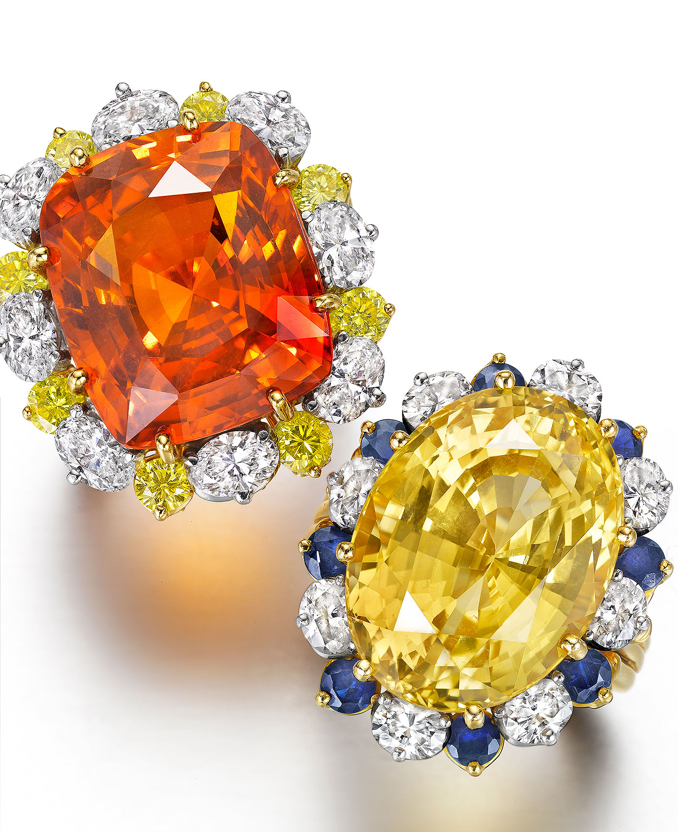 Yellow and Orange Rings